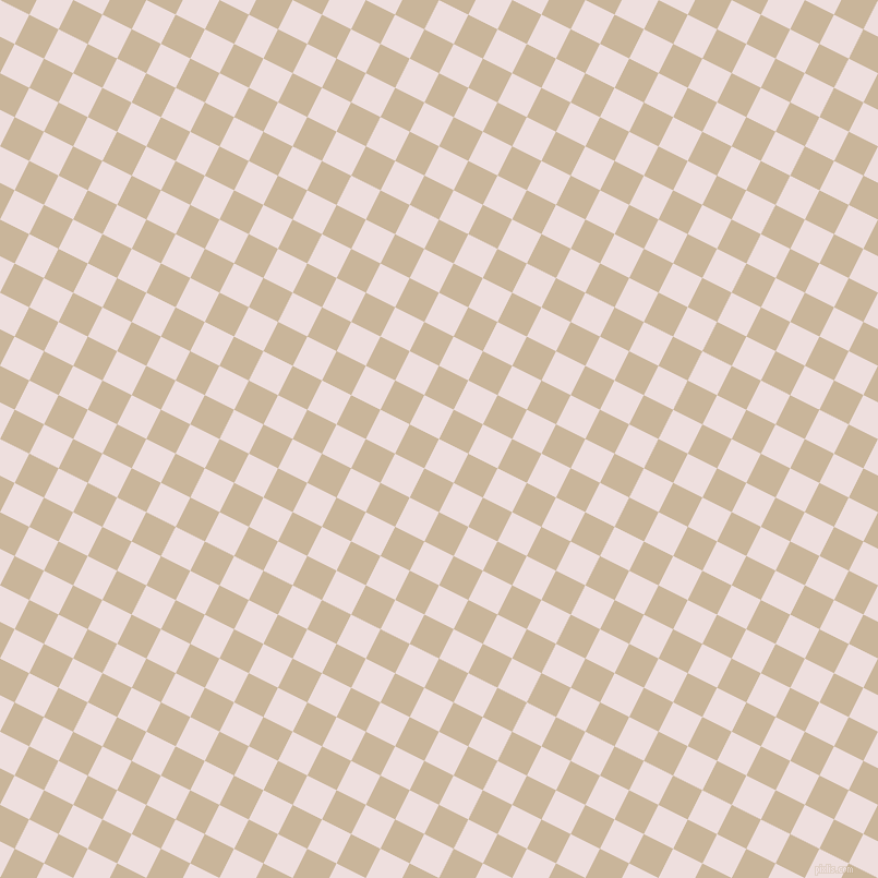 63/153 degree angle diagonal checkered chequered squares checker pattern checkers background, 30 pixel squares size, , Soft Peach and Sour Dough checkers chequered checkered squares seamless tileable
