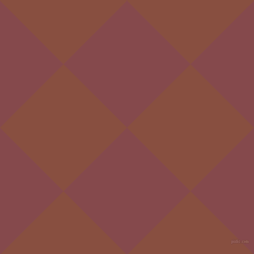 45/135 degree angle diagonal checkered chequered squares checker pattern checkers background, 180 pixel squares size, , Solid Pink and Mule Fawn checkers chequered checkered squares seamless tileable