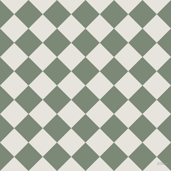 45/135 degree angle diagonal checkered chequered squares checker pattern checkers background, 68 pixel square size, , Spanish Green and Wild Sand checkers chequered checkered squares seamless tileable