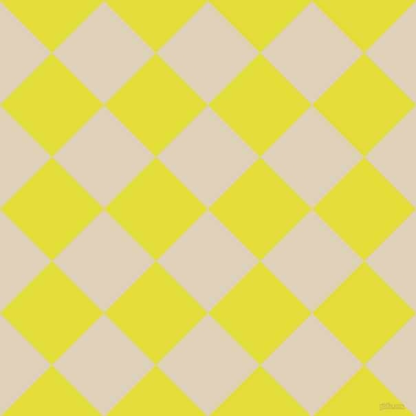 45/135 degree angle diagonal checkered chequered squares checker pattern checkers background, 107 pixel square size, Spanish White and Starship checkers chequered checkered squares seamless tileable
