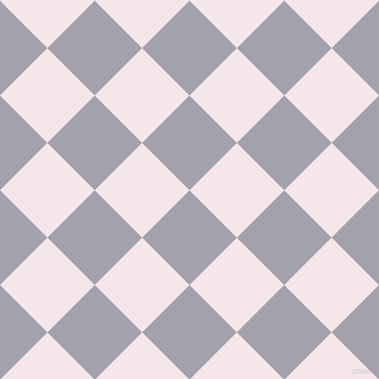 45/135 degree angle diagonal checkered chequered squares checker pattern checkers background, 131 pixel squares size, , Spun Pearl and Amour checkers chequered checkered squares seamless tileable
