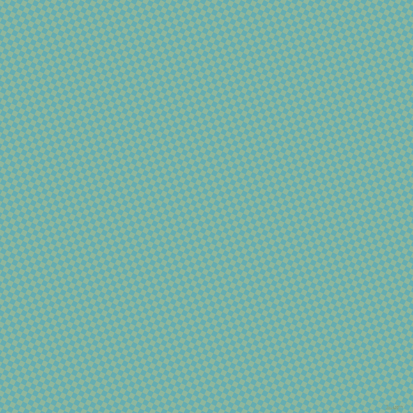 63/153 degree angle diagonal checkered chequered squares checker pattern checkers background, 10 pixel squares size, , Summer Green and Fountain Blue checkers chequered checkered squares seamless tileable