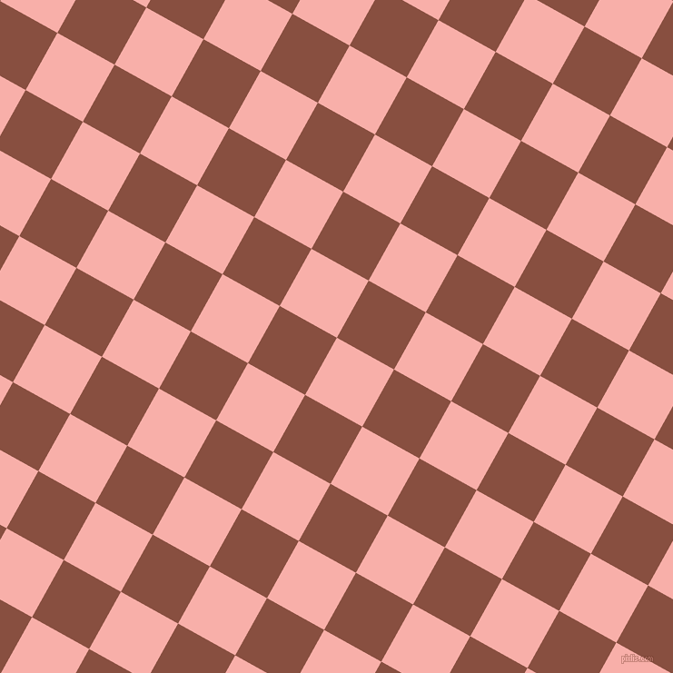 61/151 degree angle diagonal checkered chequered squares checker pattern checkers background, 72 pixel squares size, Sundown and Mule Fawn checkers chequered checkered squares seamless tileable