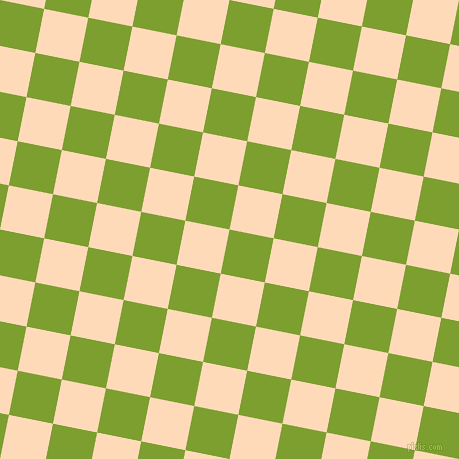 79/169 degree angle diagonal checkered chequered squares checker pattern checkers background, 45 pixel squares size, , Sushi and Peach Puff checkers chequered checkered squares seamless tileable
