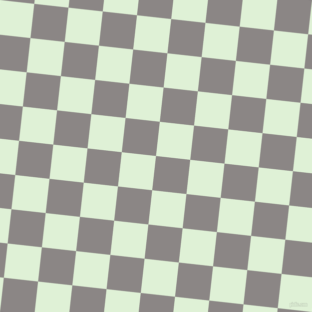 84/174 degree angle diagonal checkered chequered squares checker pattern checkers background, 69 pixel square size, , Suva Grey and Hint Of Green checkers chequered checkered squares seamless tileable