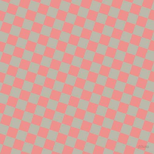 72/162 degree angle diagonal checkered chequered squares checker pattern checkers background, 32 pixel squares size, , Sweet Pink and Mist Grey checkers chequered checkered squares seamless tileable