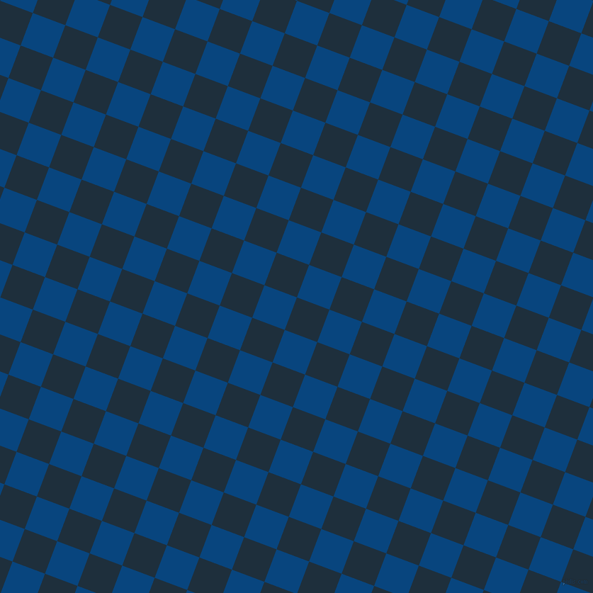 69/159 degree angle diagonal checkered chequered squares checker pattern checkers background, 49 pixel square size, , Tangaroa and Dark Cerulean checkers chequered checkered squares seamless tileable