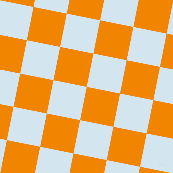 79/169 degree angle diagonal checkered chequered squares checker pattern checkers background, 113 pixel squares size, , Tangerine and Pattens Blue checkers chequered checkered squares seamless tileable