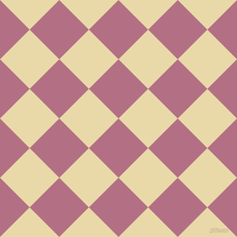 45/135 degree angle diagonal checkered chequered squares checker pattern checkers background, 82 pixel squares size, , Tapestry and Sidecar checkers chequered checkered squares seamless tileable