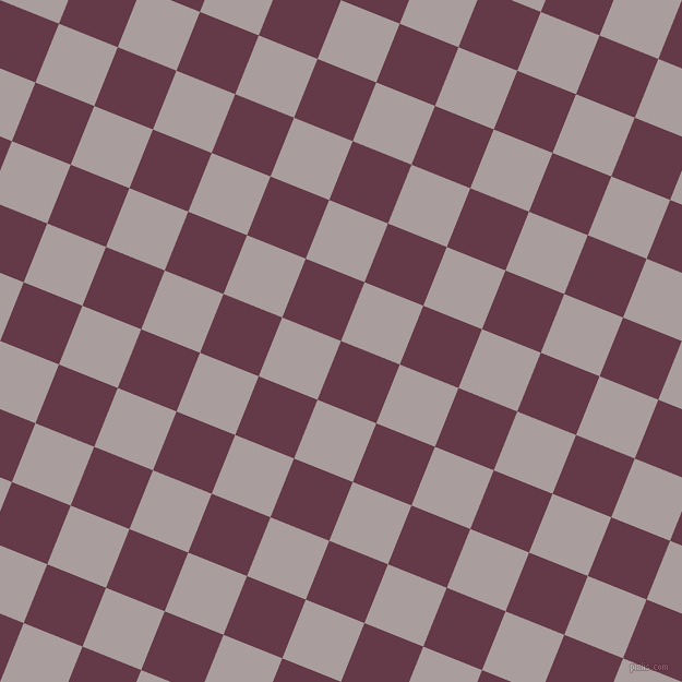 68/158 degree angle diagonal checkered chequered squares checker pattern checkers background, 58 pixel squares size, , Tawny Port and Nobel checkers chequered checkered squares seamless tileable