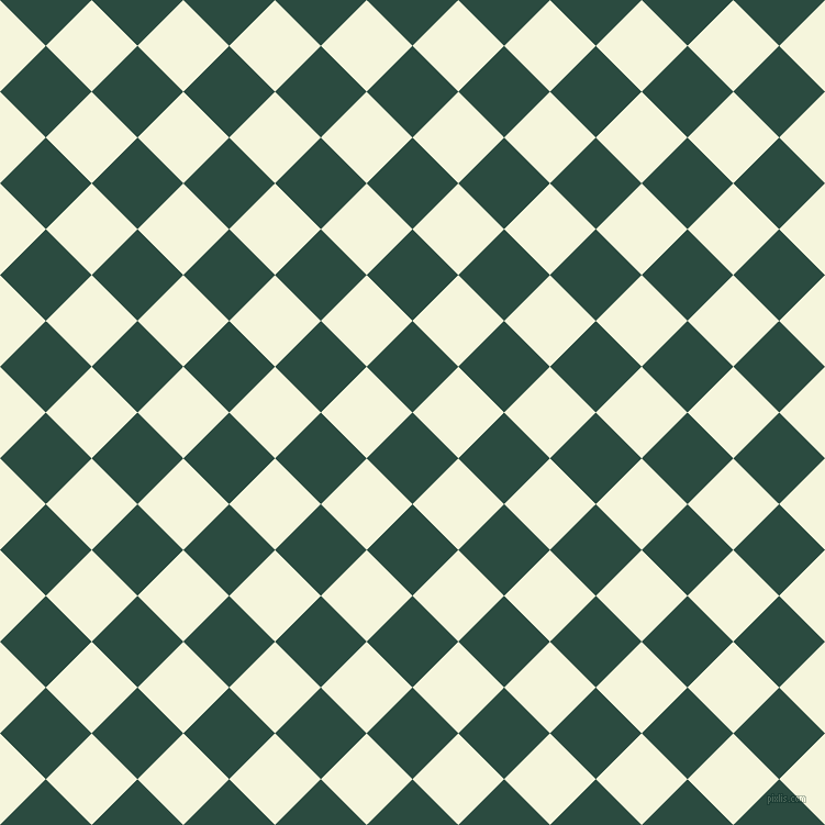 45/135 degree angle diagonal checkered chequered squares checker pattern checkers background, 59 pixel square size, , Te Papa Green and Beige checkers chequered checkered squares seamless tileable