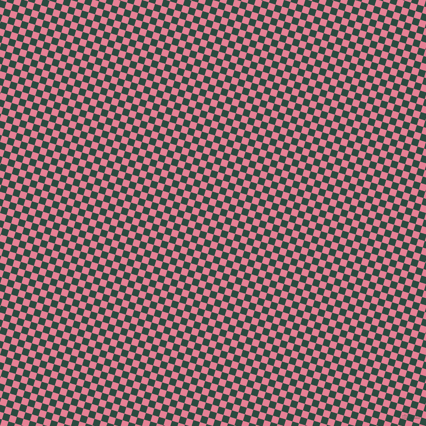73/163 degree angle diagonal checkered chequered squares checker pattern checkers background, 14 pixel square size, , Te Papa Green and Carissma checkers chequered checkered squares seamless tileable