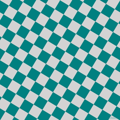 59/149 degree angle diagonal checkered chequered squares checker pattern checkers background, 41 pixel squares size, , Teal and Light Grey checkers chequered checkered squares seamless tileable