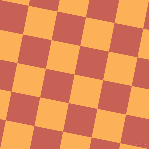 79/169 degree angle diagonal checkered chequered squares checker pattern checkers background, 96 pixel squares size, Texas Rose and Sunglo checkers chequered checkered squares seamless tileable
