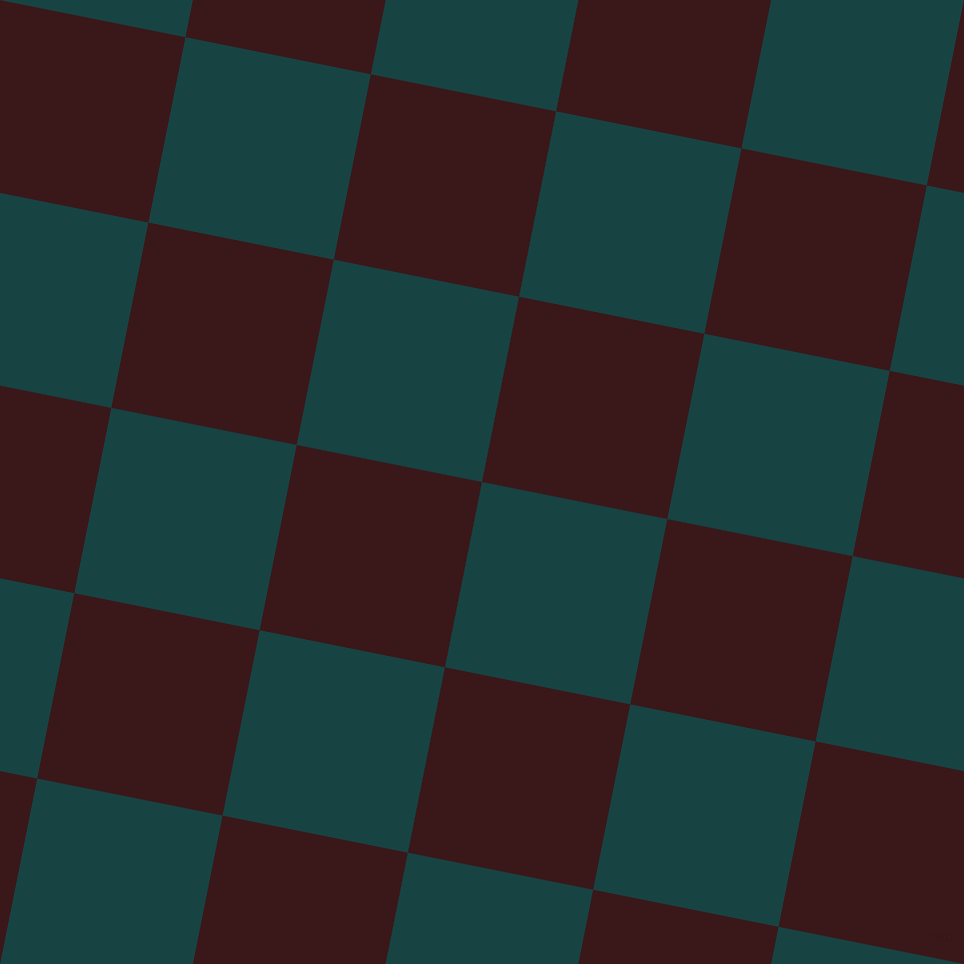 79/169 degree angle diagonal checkered chequered squares checker pattern checkers background, 189 pixel square size, Tiber and Rustic Red checkers chequered checkered squares seamless tileable