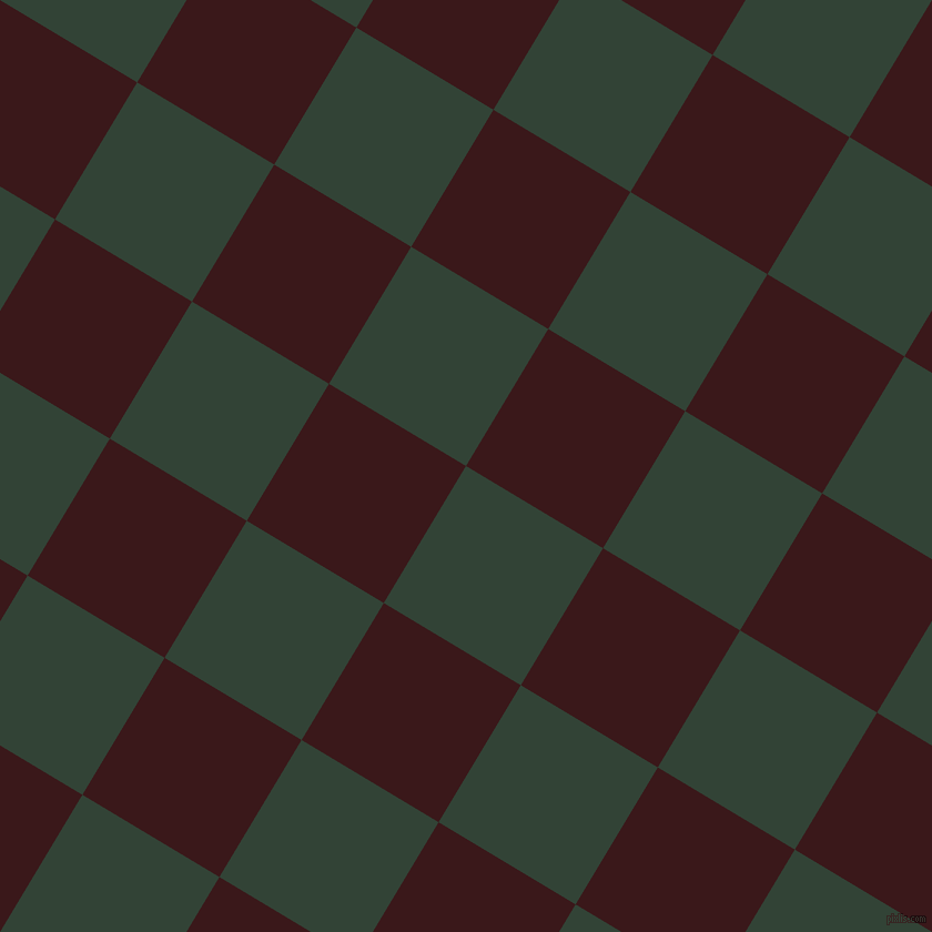 59/149 degree angle diagonal checkered chequered squares checker pattern checkers background, 144 pixel squares size, , Timber Green and Rustic Red checkers chequered checkered squares seamless tileable