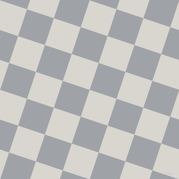 72/162 degree angle diagonal checkered chequered squares checker pattern checkers background, 108 pixel square size, Timberwolf and Grey Chateau checkers chequered checkered squares seamless tileable