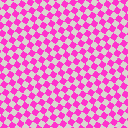 56/146 degree angle diagonal checkered chequered squares checker pattern checkers background, 25 pixel squares size, , Timberwolf and Razzle Dazzle Rose checkers chequered checkered squares seamless tileable