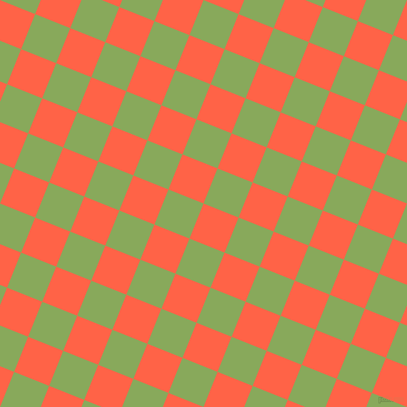 68/158 degree angle diagonal checkered chequered squares checker pattern checkers background, 53 pixel squares size, , Tomato and Chelsea Cucumber checkers chequered checkered squares seamless tileable