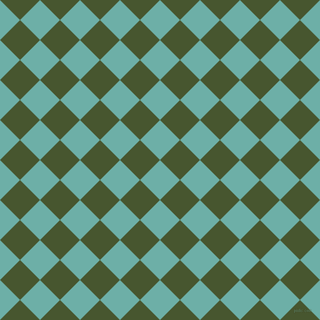 45/135 degree angle diagonal checkered chequered squares checker pattern checkers background, 57 pixel square size, , Tradewind and Clover checkers chequered checkered squares seamless tileable