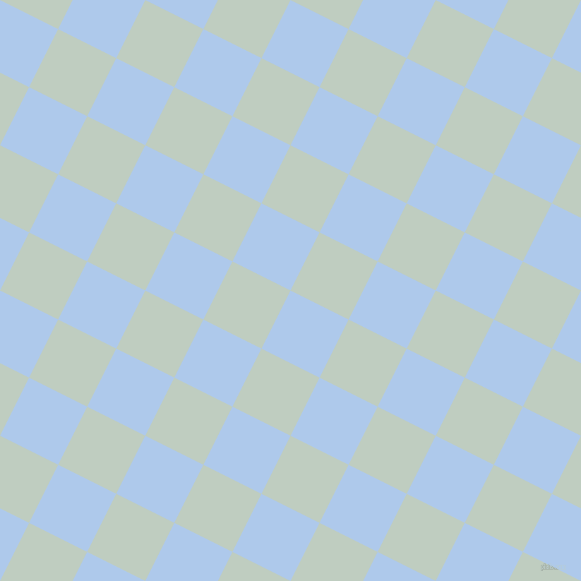 63/153 degree angle diagonal checkered chequered squares checker pattern checkers background, 92 pixel squares size, , Tropical Blue and Paris White checkers chequered checkered squares seamless tileable