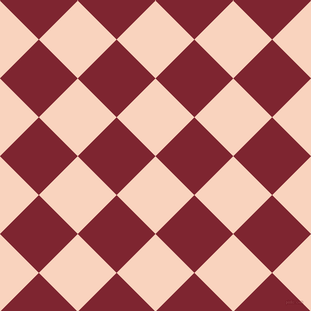 45/135 degree angle diagonal checkered chequered squares checker pattern checkers background, 113 pixel squares size, Tuft Bush and Scarlett checkers chequered checkered squares seamless tileable