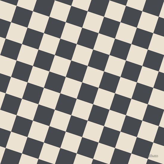 72/162 degree angle diagonal checkered chequered squares checker pattern checkers background, 58 pixel squares size, , Tuna and Quarter Spanish White checkers chequered checkered squares seamless tileable