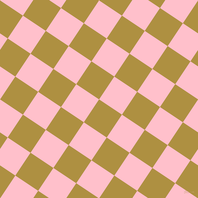 56/146 degree angle diagonal checkered chequered squares checker pattern checkers background, 95 pixel squares size, , Turmeric and Pink checkers chequered checkered squares seamless tileable