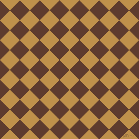 45/135 degree angle diagonal checkered chequered squares checker pattern checkers background, 48 pixel square size, , Tussock and Cioccolato checkers chequered checkered squares seamless tileable