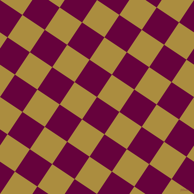 56/146 degree angle diagonal checkered chequered squares checker pattern checkers background, 108 pixel squares size, , Tyrian Purple and Luxor Gold checkers chequered checkered squares seamless tileable