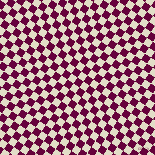 56/146 degree angle diagonal checkered chequered squares checker pattern checkers background, 25 pixel squares size, , Tyrian Purple and Travertine checkers chequered checkered squares seamless tileable