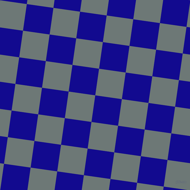 82/172 degree angle diagonal checkered chequered squares checker pattern checkers background, 90 pixel square size, , Ultramarine and Rolling Stone checkers chequered checkered squares seamless tileable