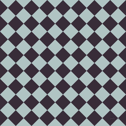 45/135 degree angle diagonal checkered chequered squares checker pattern checkers background, 38 pixel squares size, , Valentino and Jungle Mist checkers chequered checkered squares seamless tileable