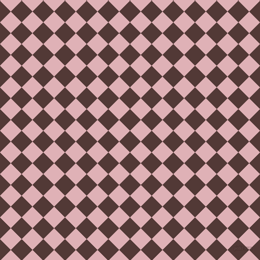 45/135 degree angle diagonal checkered chequered squares checker pattern checkers background, 30 pixel square size, , Van Cleef and Blossom checkers chequered checkered squares seamless tileable