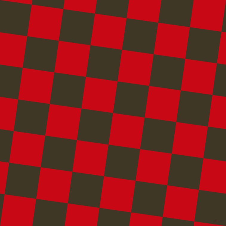 82/172 degree angle diagonal checkered chequered squares checker pattern checkers background, 107 pixel squares size, , Venetian Red and Birch checkers chequered checkered squares seamless tileable
