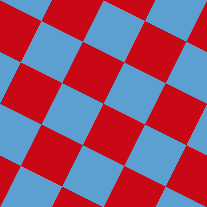 63/153 degree angle diagonal checkered chequered squares checker pattern checkers background, 189 pixel squares size, , Venetian Red and Picton Blue checkers chequered checkered squares seamless tileable