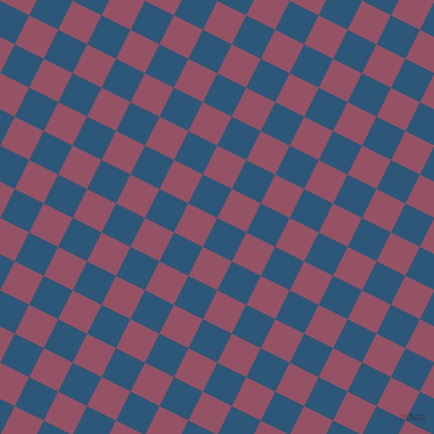63/153 degree angle diagonal checkered chequered squares checker pattern checkers background, 46 pixel squares size, , Venice Blue and Vin Rouge checkers chequered checkered squares seamless tileable