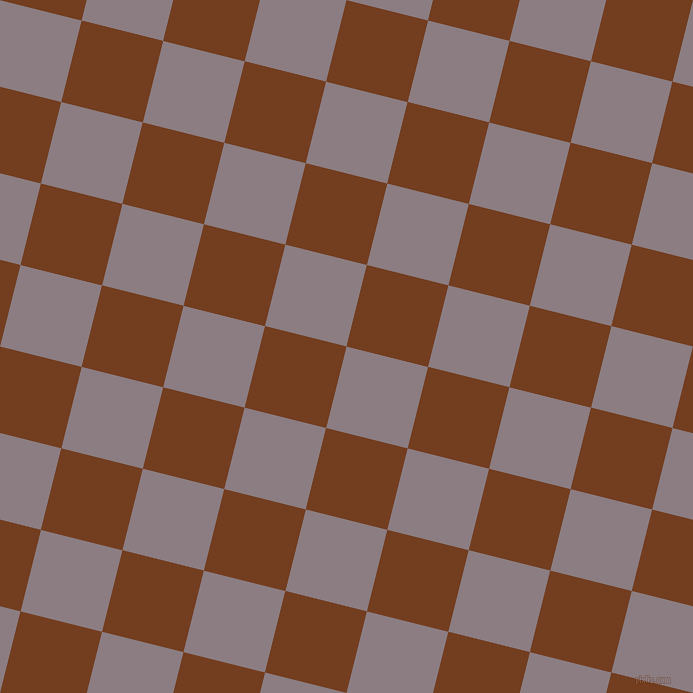 76/166 degree angle diagonal checkered chequered squares checker pattern checkers background, 84 pixel square size, Venus and Peru Tan checkers chequered checkered squares seamless tileable