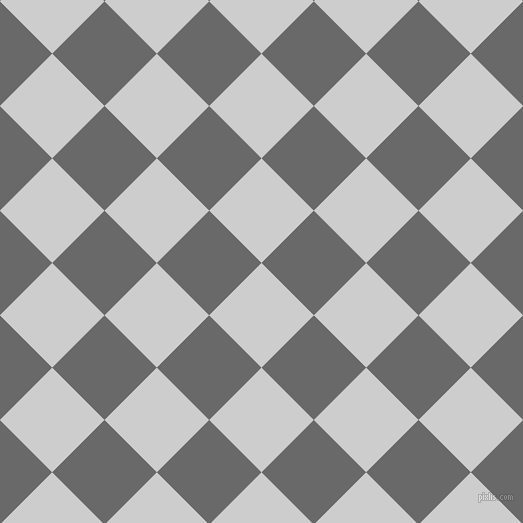 45/135 degree angle diagonal checkered chequered squares checker pattern checkers background, 74 pixel squares size, , Very Light Grey and Dim Gray checkers chequered checkered squares seamless tileable