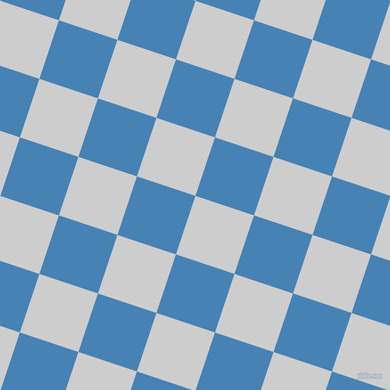 72/162 degree angle diagonal checkered chequered squares checker pattern checkers background, 87 pixel square size, , Very Light Grey and Steel Blue checkers chequered checkered squares seamless tileable