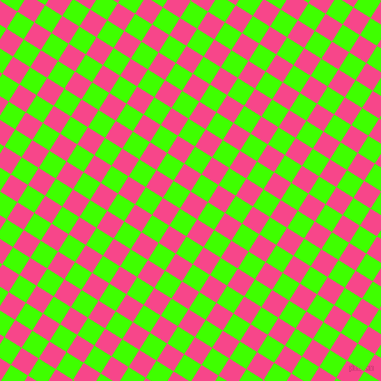 58/148 degree angle diagonal checkered chequered squares checker pattern checkers background, 29 pixel square size, , Violet Red and Harlequin checkers chequered checkered squares seamless tileable