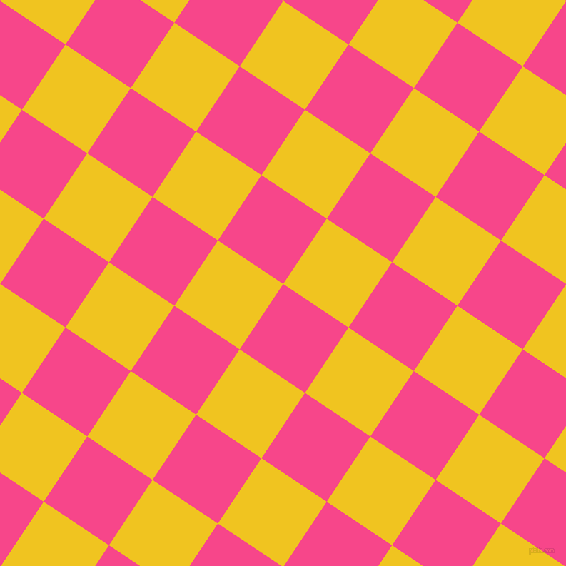 56/146 degree angle diagonal checkered chequered squares checker pattern checkers background, 110 pixel squares size, , Violet Red and Moon Yellow checkers chequered checkered squares seamless tileable