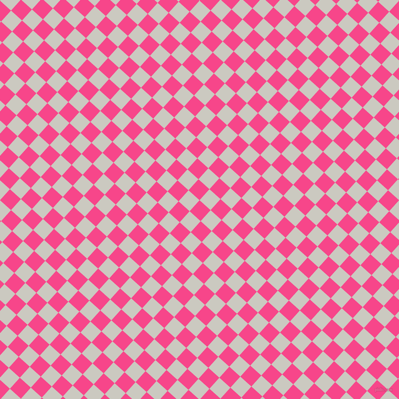 48/138 degree angle diagonal checkered chequered squares checker pattern checkers background, 30 pixel squares size, , Violet Red and Quill Grey checkers chequered checkered squares seamless tileable