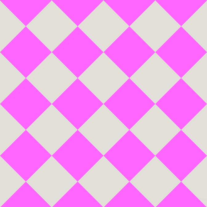 45/135 degree angle diagonal checkered chequered squares checker pattern checkers background, 119 pixel squares size, , Vista White and Pink Flamingo checkers chequered checkered squares seamless tileable