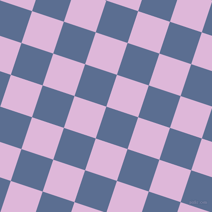 72/162 degree angle diagonal checkered chequered squares checker pattern checkers background, 66 pixel squares size, , Waikawa Grey and French Lilac checkers chequered checkered squares seamless tileable