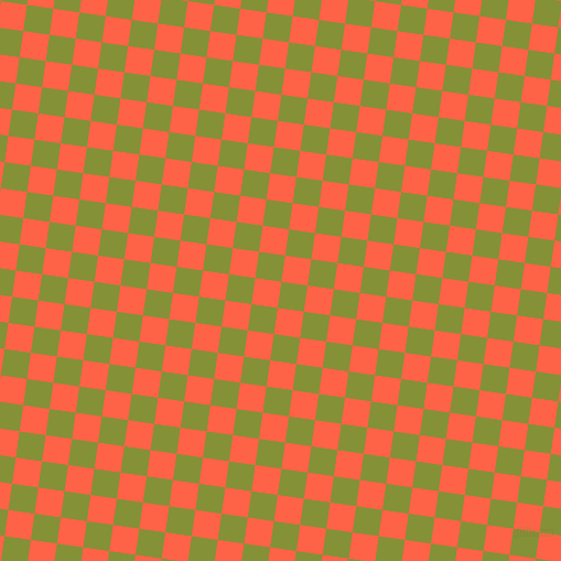 82/172 degree angle diagonal checkered chequered squares checker pattern checkers background, 24 pixel squares size, , Wasabi and Tomato checkers chequered checkered squares seamless tileable