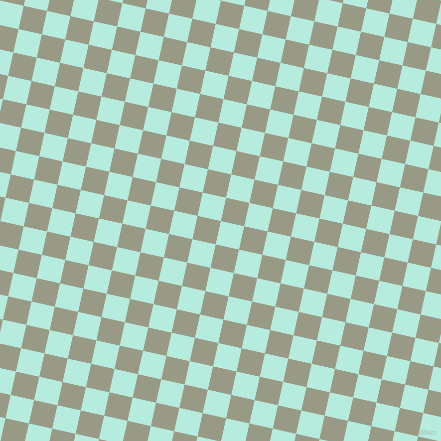 77/167 degree angle diagonal checkered chequered squares checker pattern checkers background, 48 pixel squares size, , Water Leaf and Lemon Grass checkers chequered checkered squares seamless tileable