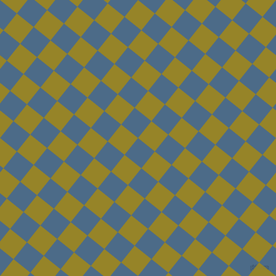 51/141 degree angle diagonal checkered chequered squares checker pattern checkers background, 42 pixel square size, , Wedgewood and Lemon Ginger checkers chequered checkered squares seamless tileable