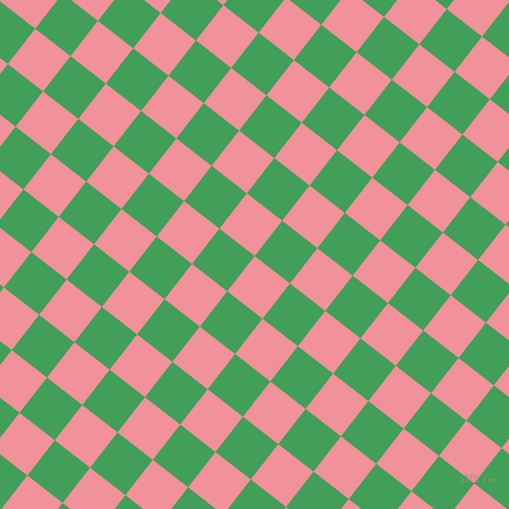 52/142 degree angle diagonal checkered chequered squares checker pattern checkers background, 41 pixel squares size, Wewak and Chateau Green checkers chequered checkered squares seamless tileable