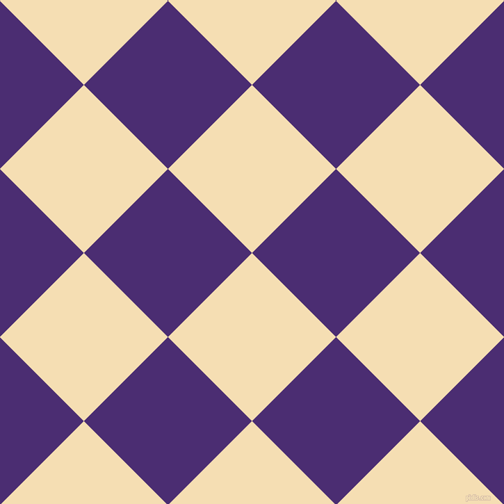 45/135 degree angle diagonal checkered chequered squares checker pattern checkers background, 171 pixel squares size, , Wheat and Blue Diamond checkers chequered checkered squares seamless tileable
